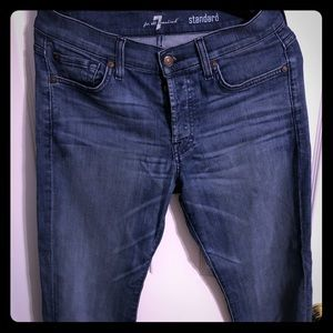 7 of all mankind men's jeans size 31